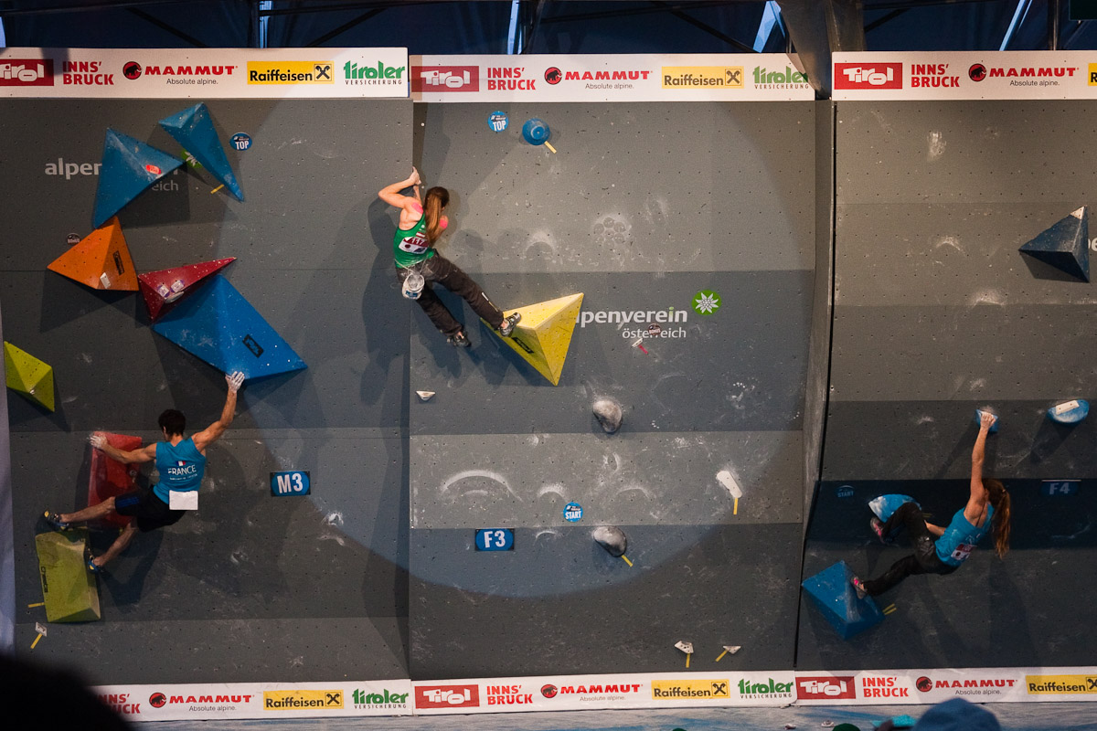 Kletterausrüstung Innsbruck : Boulder europameisterschaft in innsbruck